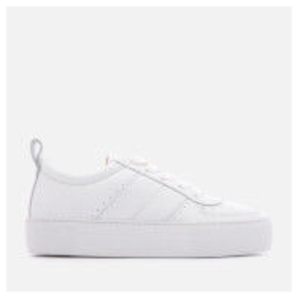 Whistles Women's Anna Low Top Trainers - White