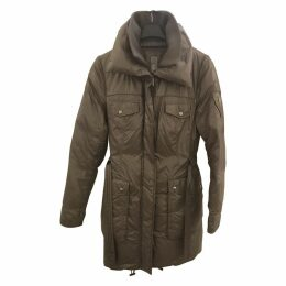 Khaki Synthetic Coat