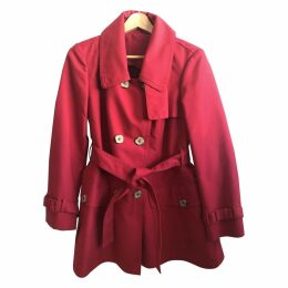 Red Cotton Coat