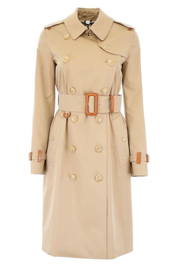 Burberry Clevelodelt Midi Raincoat