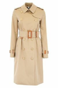 Burberry Clevelodelt Midi Raincoat