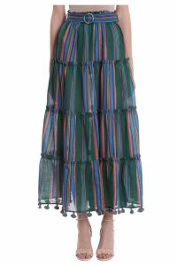 Zimmermann Allia Stripe Skirt