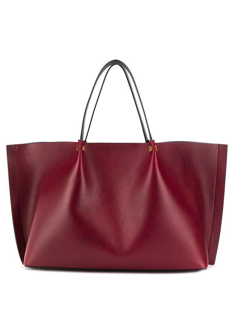 Valentino Valentino Garavani Go logo escape shopper tote - Red