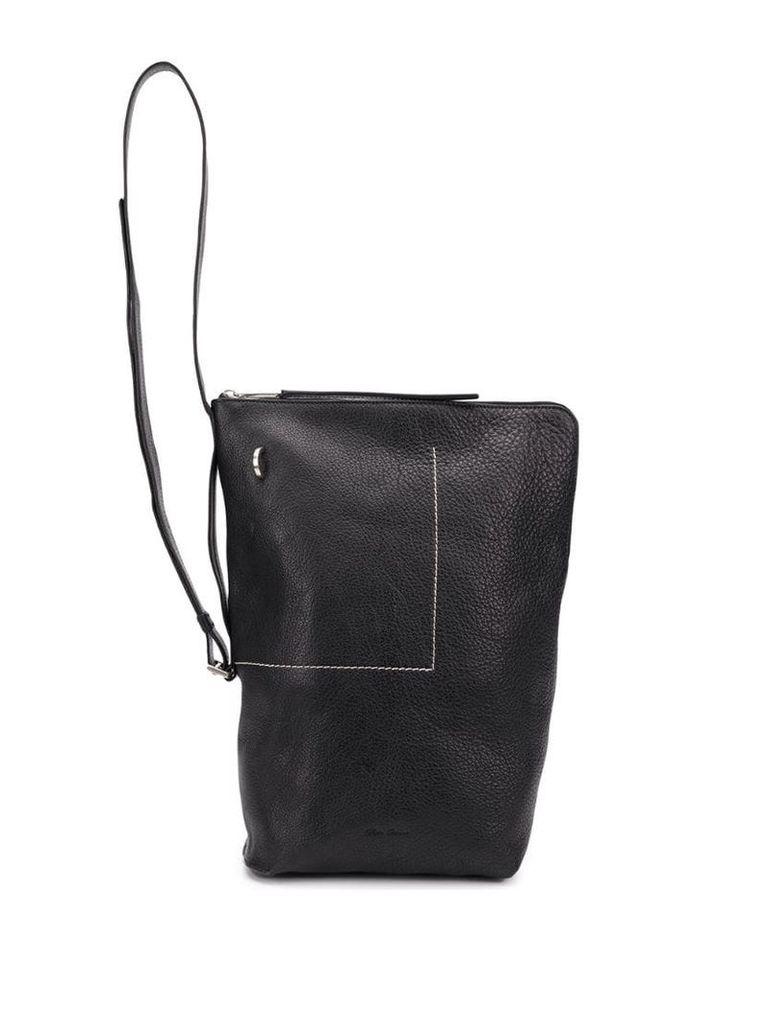 Rick Owens Babel small bucket bag - Black