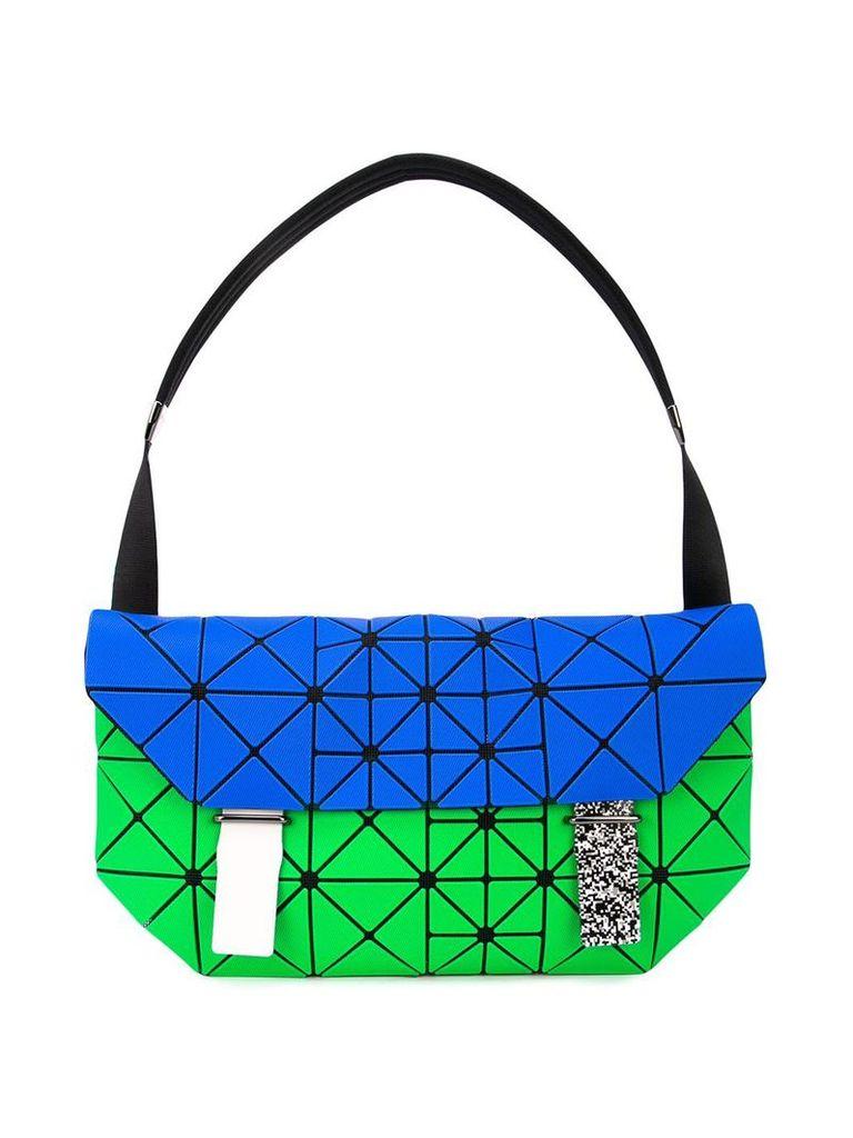 Bao Bao Issey Miyake pixel shoulder bag - Blue
