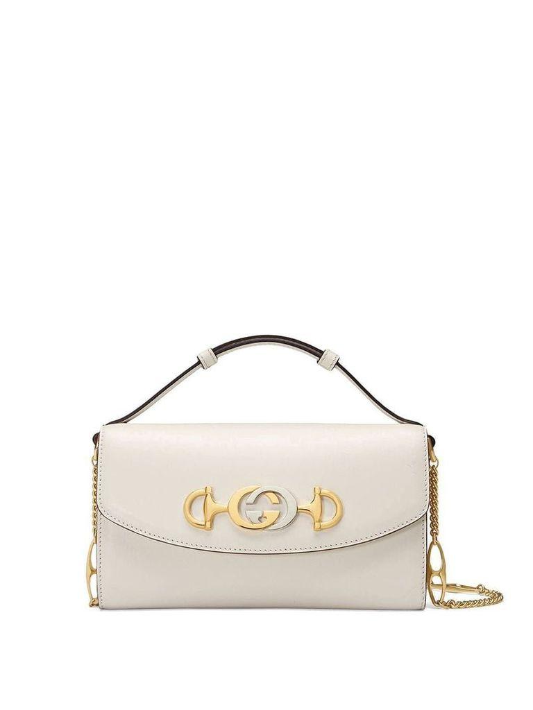 Gucci Gucci Zumi mini shoulder bag - White