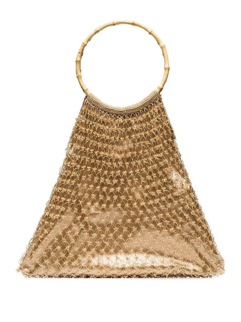 My Beachy Side Spider tote bag - Neutrals