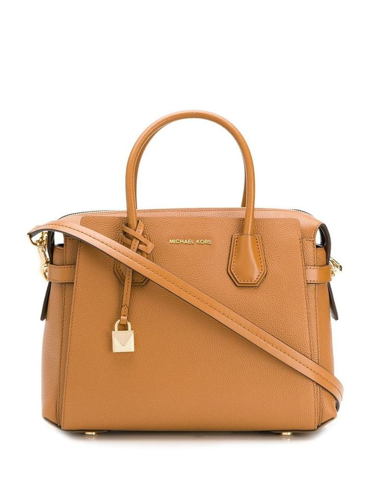 Michael Michael Kors Mercer belted tote - Brown
