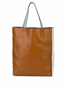 Marni large tote bag - Brown