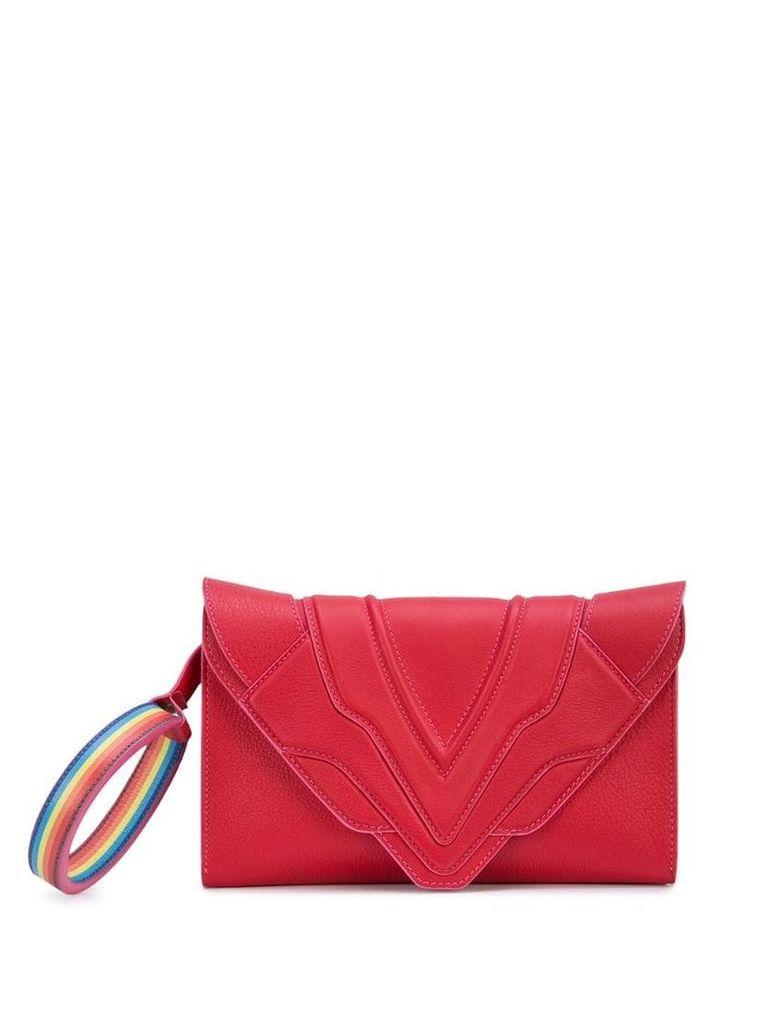 Elena Ghisellini Rainbow hoop shoulder bag - Pink