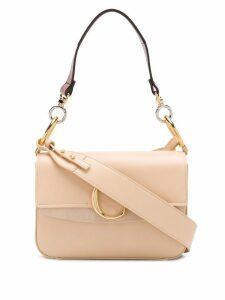 Chloé small C shoulder bag - Neutrals