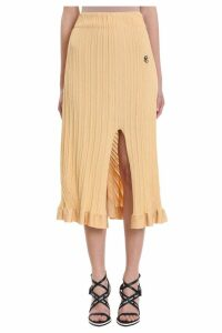 Chloé Yellow Tube Skirt