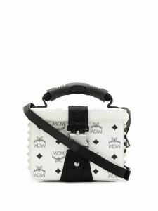 MCM box shoulder bag - White