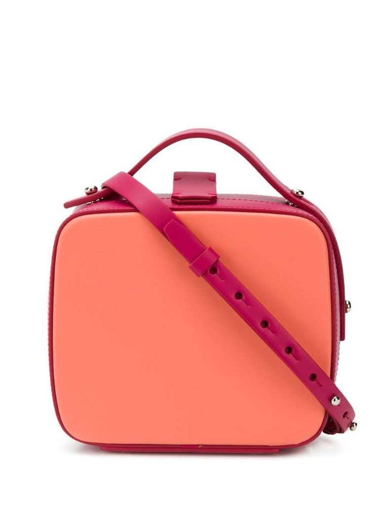 Nico Giani Tunilla square tote bag - Orange