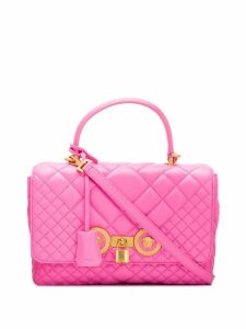 Versace quilted Icon shoulder bag - Pink