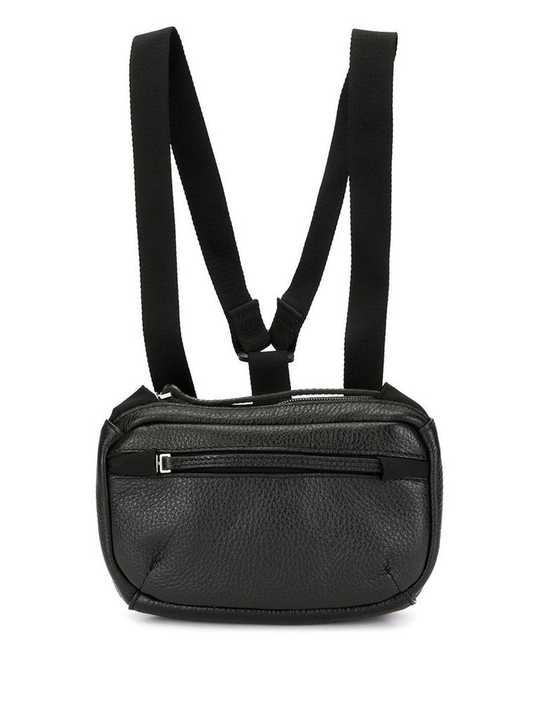 1017 ALYX 9SM classic belt bag with chest harness - Black