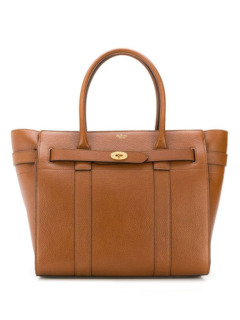 Mulberry zipped Bayswater tote - Brown
