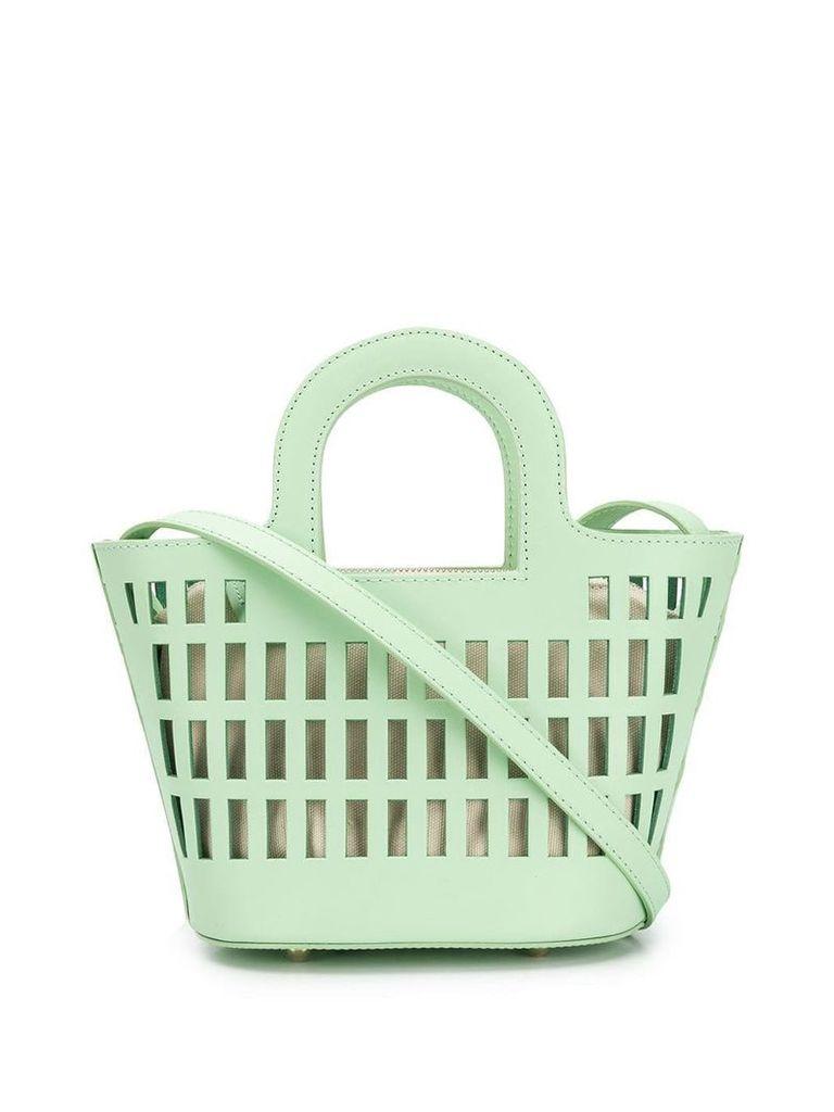 Hereu mini shopping bag tote - Green