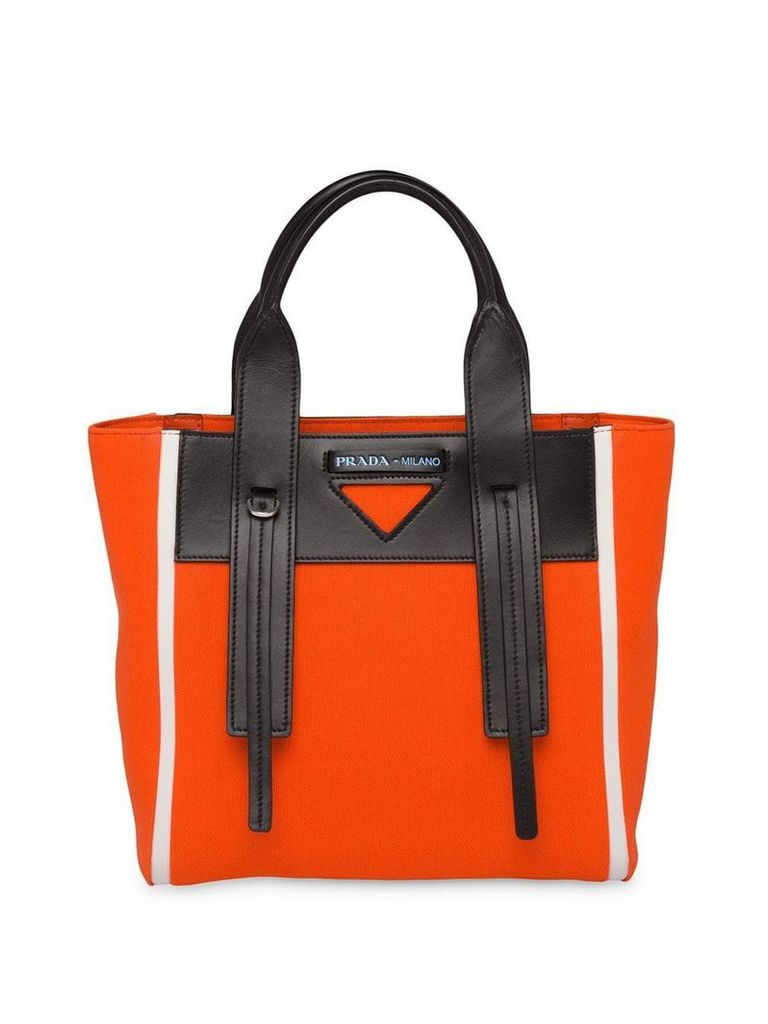 Prada Prada Ouverture tote bag - Orange