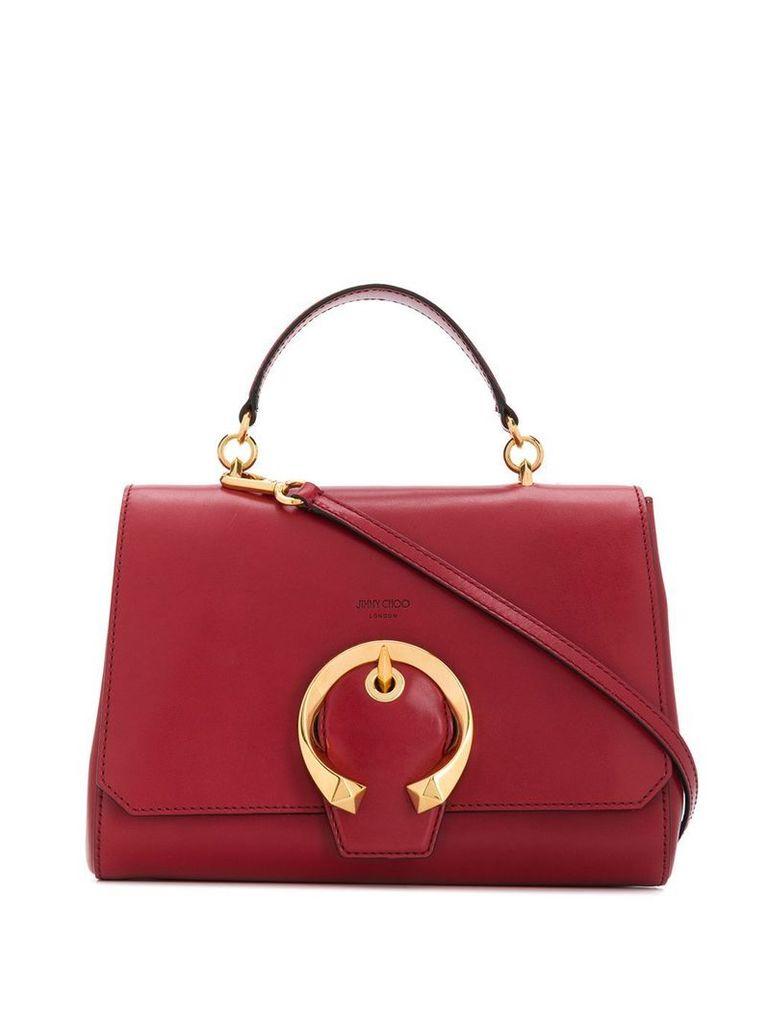 Jimmy Choo Madeline top handle bag - Red