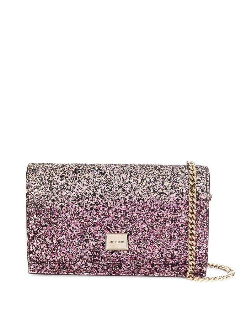 Jimmy Choo Lizzie clutch bag - Pink