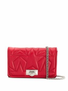 Jimmy Choo Helia clutch - Red