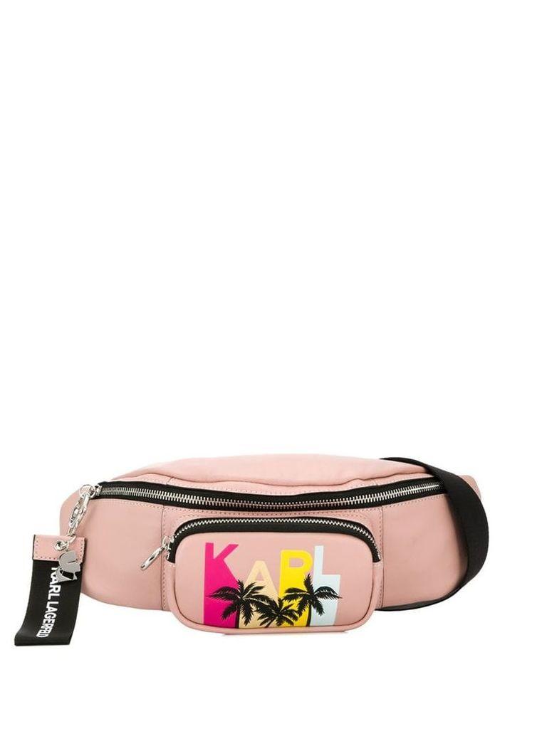 Karl Lagerfeld Karlifornia belt bag - Pink