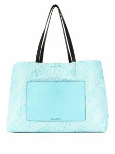 Karl Lagerfeld Karlifornia Shopper - Blue