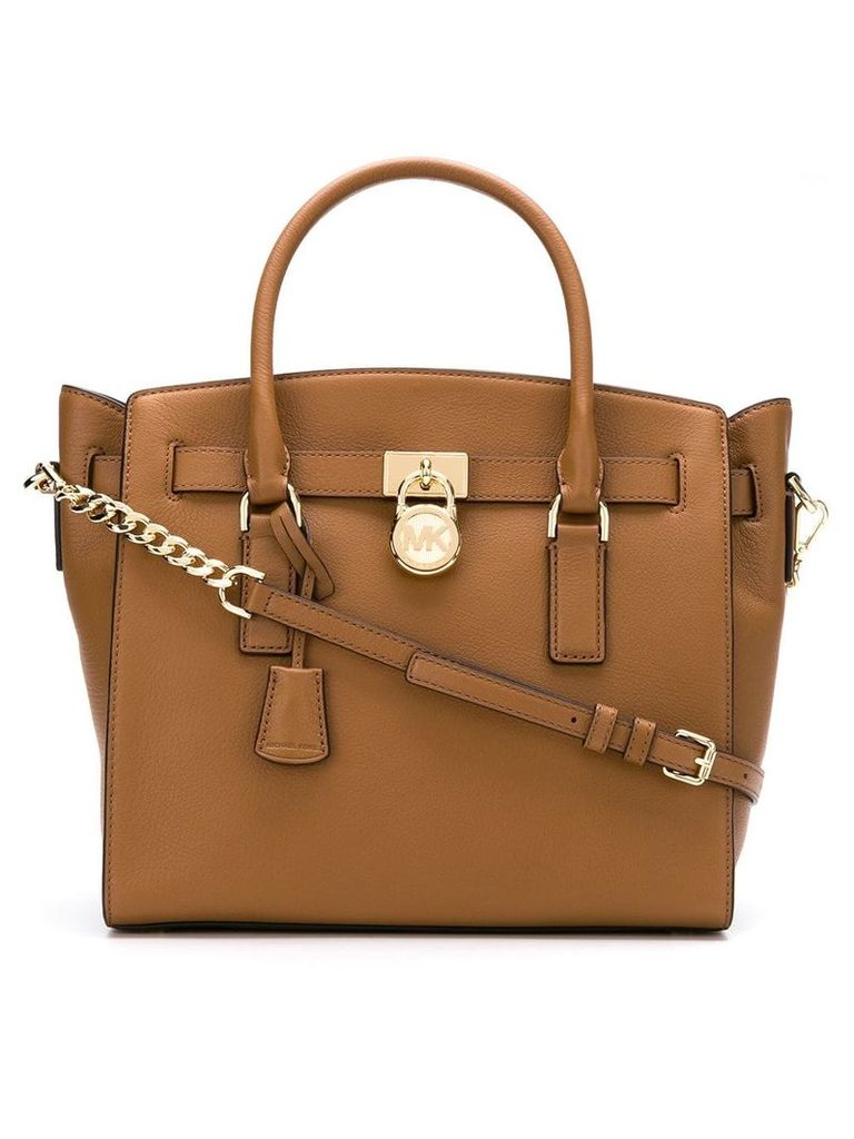 Michael Michael Kors Hamilton tote bag - Brown