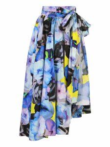 MSGM Floral Motif Skirt