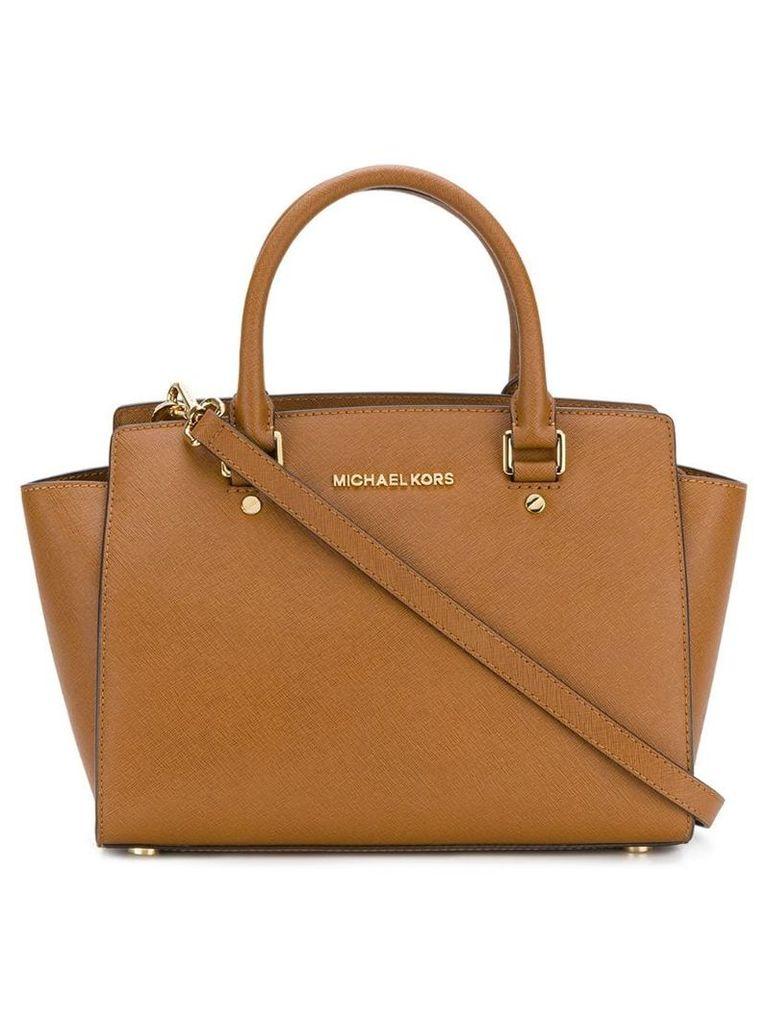 Michael Michael Kors Selma medium satchel - Brown