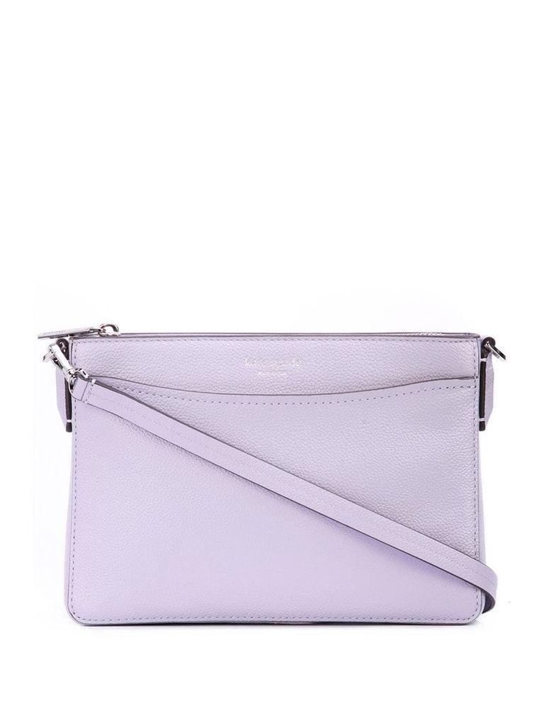 Kate Spade top zip crossbody bag - Purple
