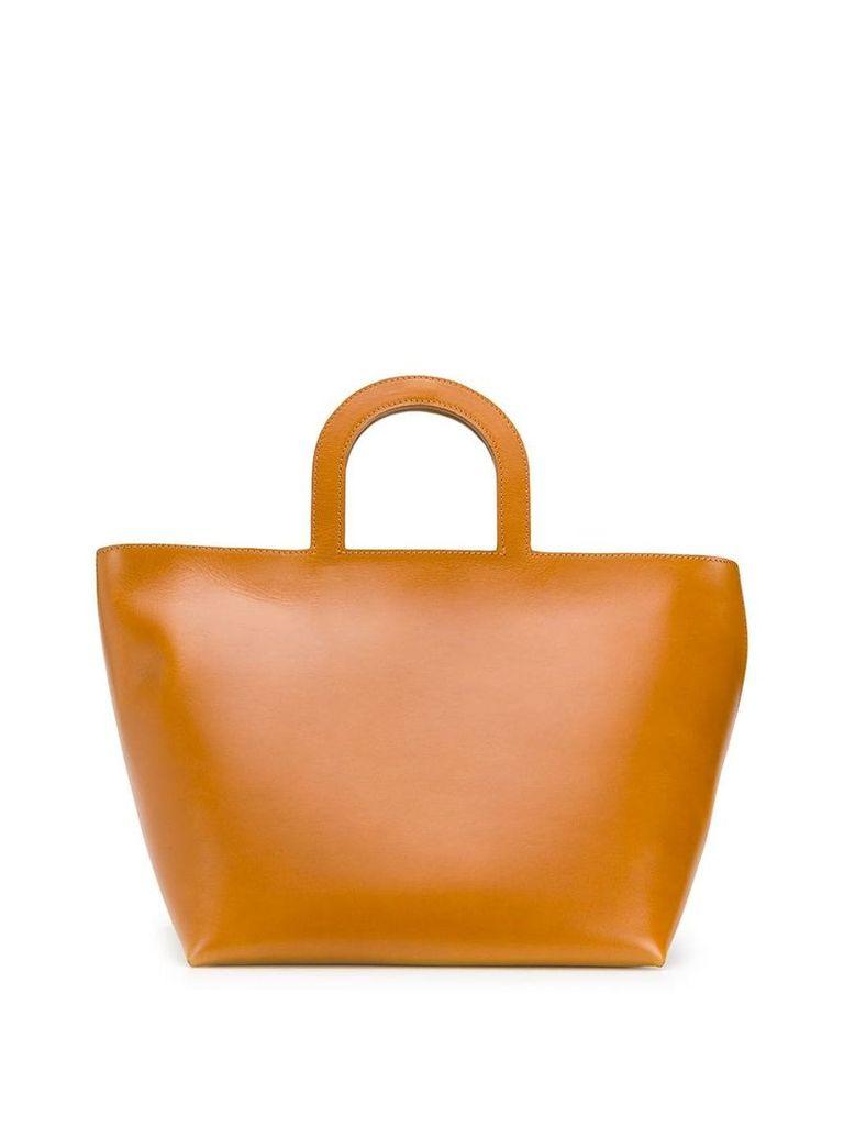 Building Block classic tote bag - Brown