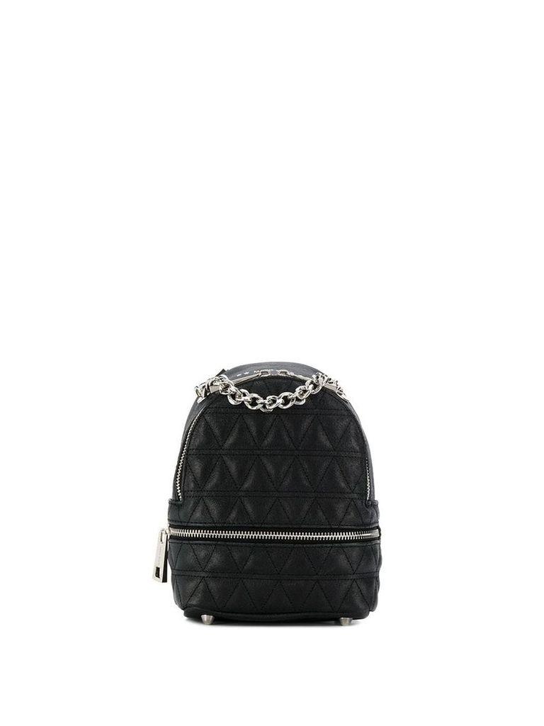 Marc Ellis quilted backpack - Black