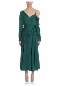 self-portrait Asymmetric One-shoulder Dress