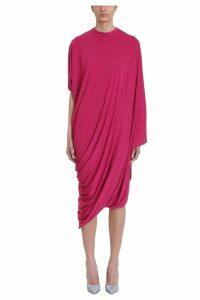 VETEMENTS Draped Asymmetric Dress