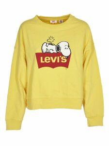 Levis Logo Print Sweatshirt
