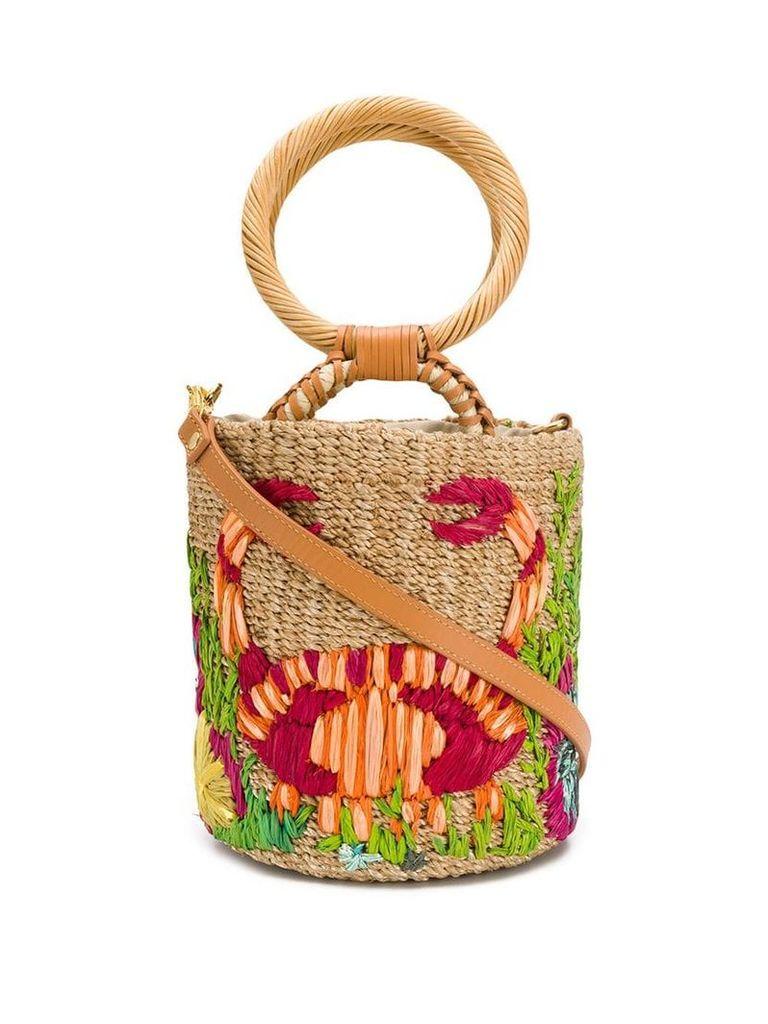 Aranaz Rava bucket bag - Neutrals