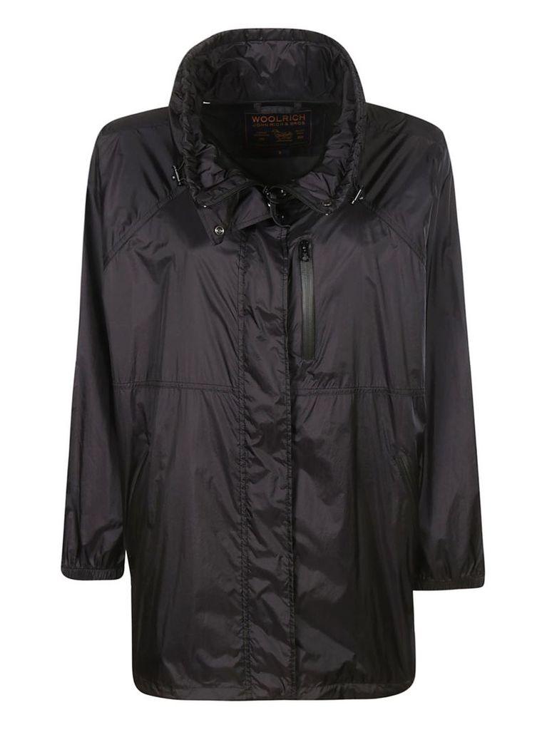 Woolrich Zipped Raincoat