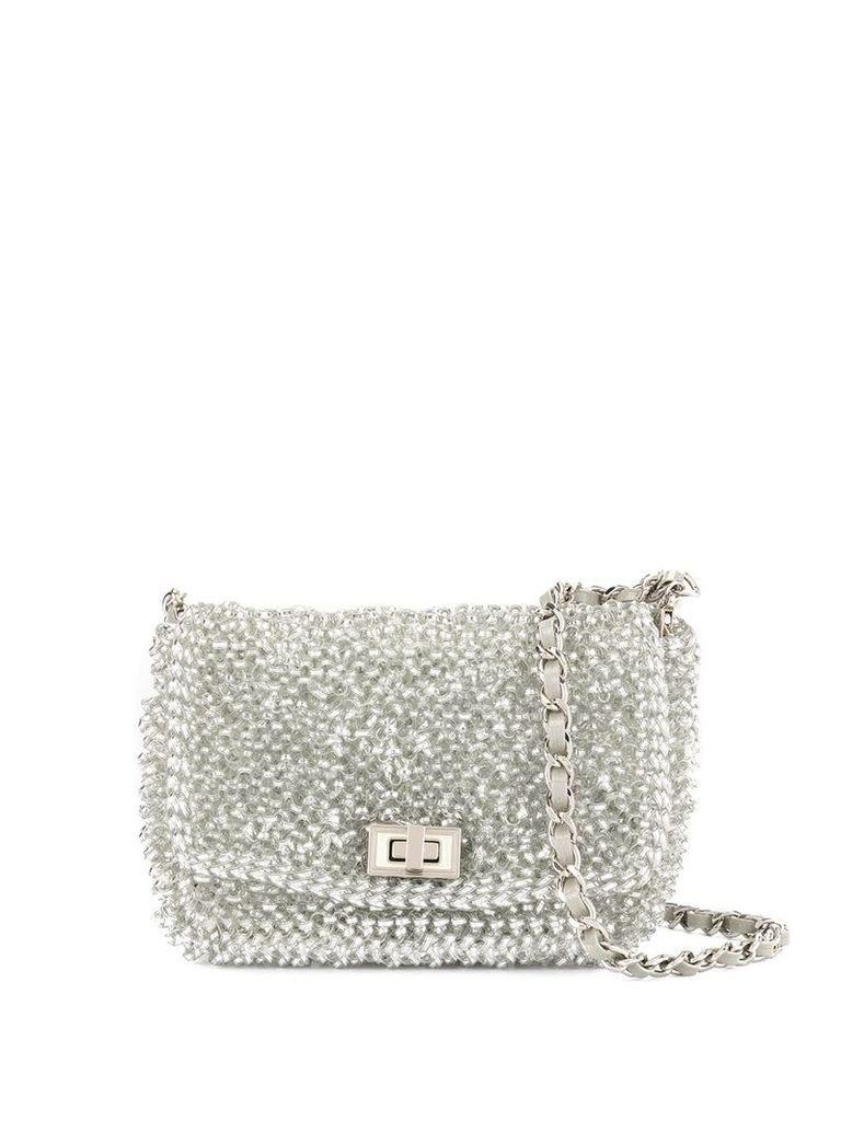 Anteprima Lucchetto mini crossbody bag - Silver