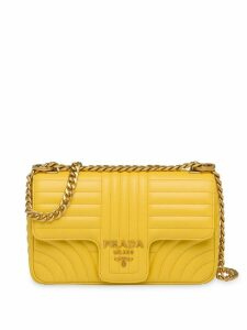 Prada Diagramme medium shoulder bag - Yellow
