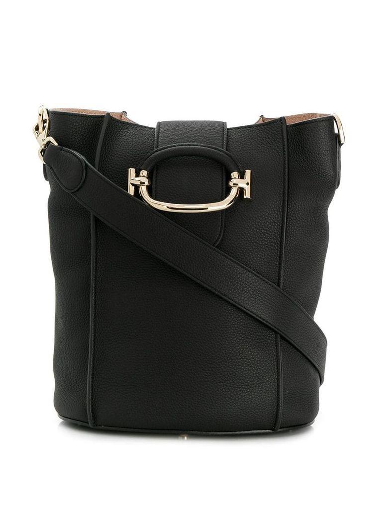 Tod's TT Ring bucket bag - Black