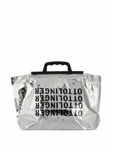 Ottolinger logo shopping bag - Silver