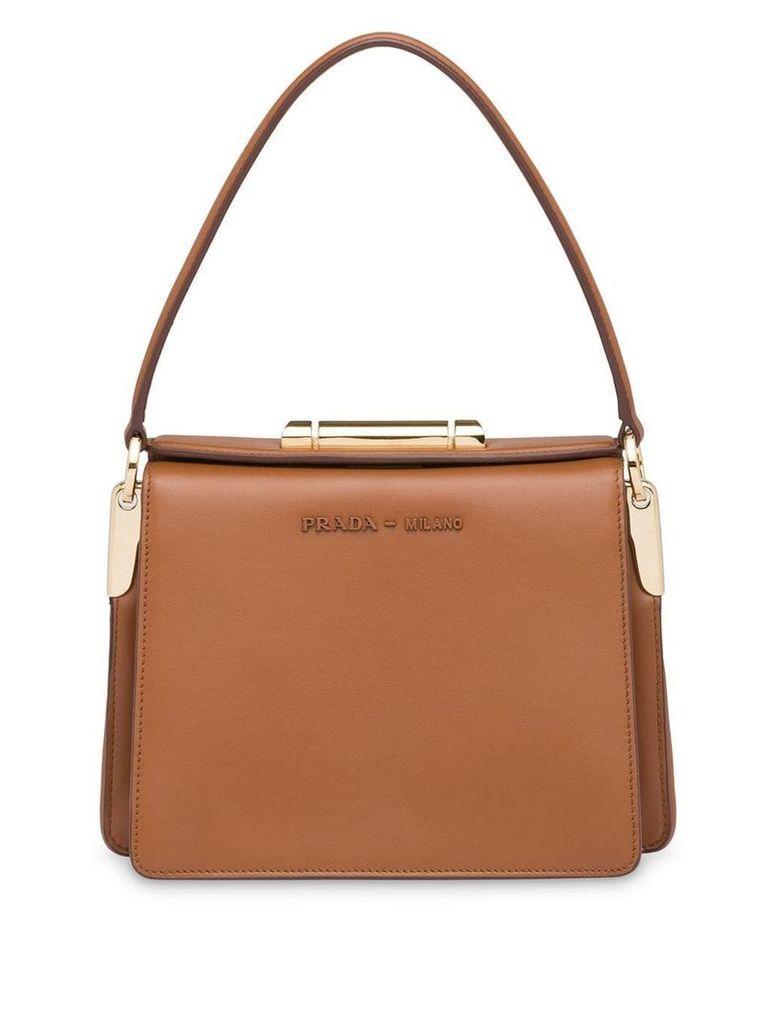 Prada Prada Sybille leather bag - Brown