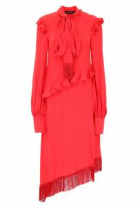 Rokh Asymmetric Ruffled Dress