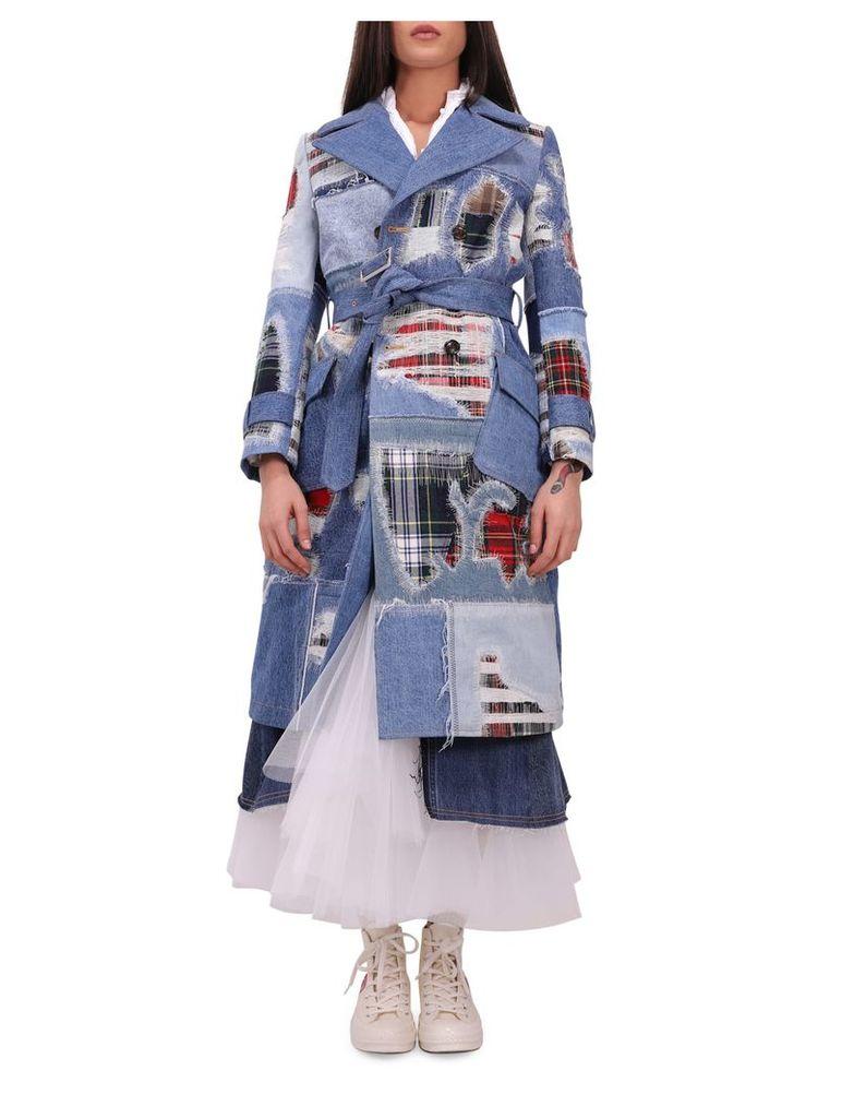 Junya Watanabe Denim Mix Coat