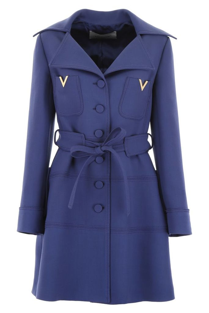 Valentino V Gold Coat