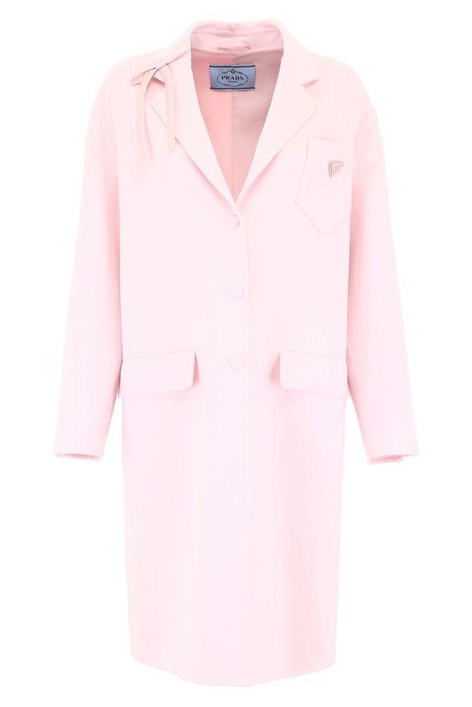 Prada Coat With Bow