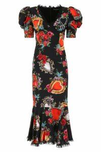 Dolce & Gabbana Sacred Heart Dress