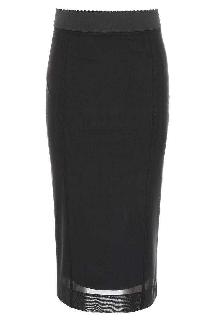 Dolce & Gabbana Mesh Skirt